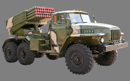 Ural BM-21 Grad Royalty Free Stock Photos