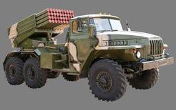 Ural BM-21 Grad Royalty-vrije Stock Foto's