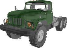 Ural ciężarówka Obrazy Stock