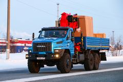 Ural 4320 daarna stock foto's