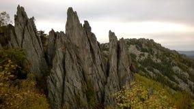 Ural gór falezy Zdjęcie Royalty Free