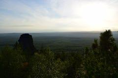 Ural góra nakrywa obserwacja widok Obraz Stock
