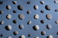 Ural klejnoty Kolekcja kamienie oryginalny i niezwykły hobby typ obraz royalty free