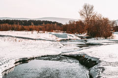 Ural landscapes. Scenic views of the expanses of the Ural depths Stock Photography
