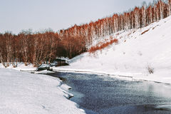 Ural landscapes. Scenic views of the expanses of the Ural depths Stock Images