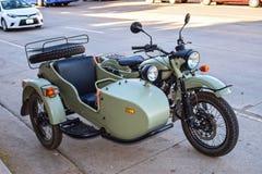 Ural motorbike Stock Photos