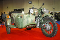 Ural Motorcycle (Russia) Stock Photos