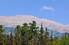 Ural mountain range Kvarkush_4 Royalty Free Stock Photography