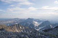 Ural mountains Stock Image