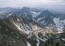 Ural mountains Stock Photography