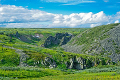 Ural mountains Royalty Free Stock Photo