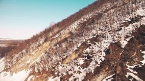 Ural mountains and spring forest, Bashkortostan Russia. Ural Mountains and Spring Forest, Bashkortostan, Russia stock video