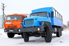 Ural 3255 Stock Photos