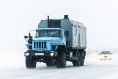 Ural 4320 Royalty Free Stock Image