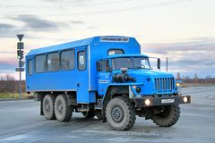 Ural 3255 Stock Photography