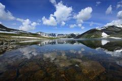 Ural Proche-polaire, lac Patok Photographie stock libre de droits