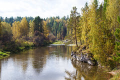 Ural Rusland stock afbeelding
