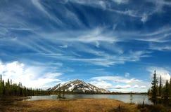 Ural Shuda-Iz berg Arkivbild