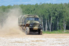 Ural-43206 truck Stock Photo