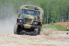 Ural-43206 truck Royalty Free Stock Image
