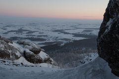Uralbergen Rusland Stock Fotografie