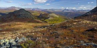 Urals autumn Stock Photography