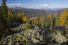 Urals jesień Zdjęcia Royalty Free