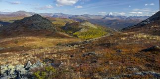 Urals jesień Fotografia Stock