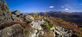 Urals jesień Fotografia Royalty Free