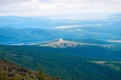 Urals ridge Royalty Free Stock Image