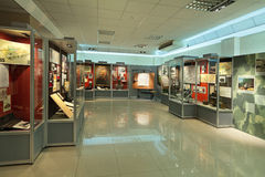 Uralvagonzavod museum Royalty Free Stock Photo