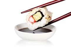 Uramaki suszi - Japońska kuchnia Obrazy Stock