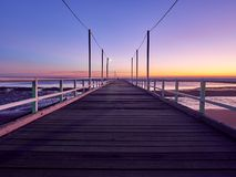 Urangun码头-赫维海湾昆士兰 库存照片