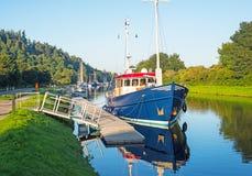 Urania on Caledonian Canal Stock Photos