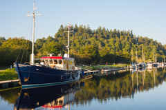 Urania on Caledonian Canal Stock Photos
