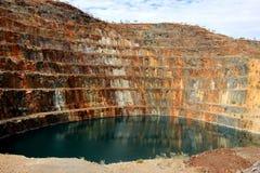 Uranium шахта Стоковое Изображение RF