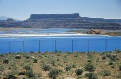 Uranium mine in Canyonland National Park in Moab, UT Royalty Free Stock Photography