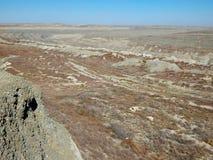 Uranium pit abandoned. royalty free stock images