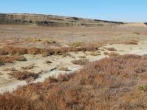 Uranium pit abandoned. stock photos