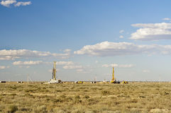 Uranium production site. Royalty Free Stock Photography