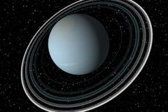 Uranus Stock Afbeelding