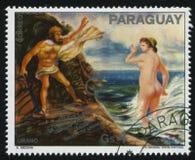 Uranus et Aphrodite par la Médina image libre de droits