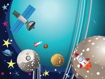 Uranus planeta w przestrzeni Zdjęcia Stock