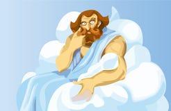 Uranus, un dieu Image stock