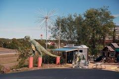 Uranus, une attraction touristique à St Robert, MOIS image libre de droits
