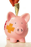 uratować pieniądze Fotografia Stock