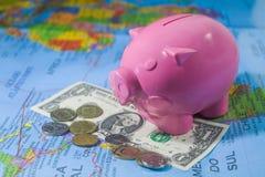 uratować pieniądze Obrazy Stock