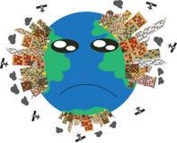 uratować ziemię Obrazy Stock