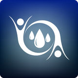 uratuj wody Zdjęcia Royalty Free