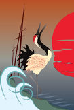 żuraw Zdjęcie Royalty Free